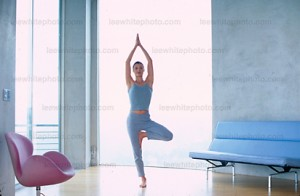 Los Angeles photographer Lee White shoots healthy lifestyle - Yoga
