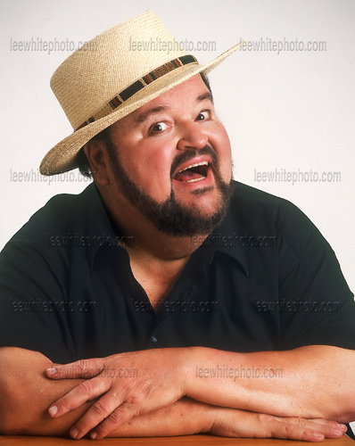 Dom DeLuise last photography session with Los Angeles professional photogrpaher Lee White