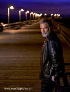 Los Angeles photographer dramatic night portraiture