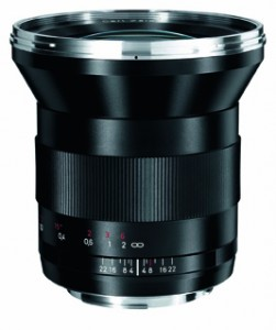Zeiss Distagon f2.8 21mm lens for Canon cameras